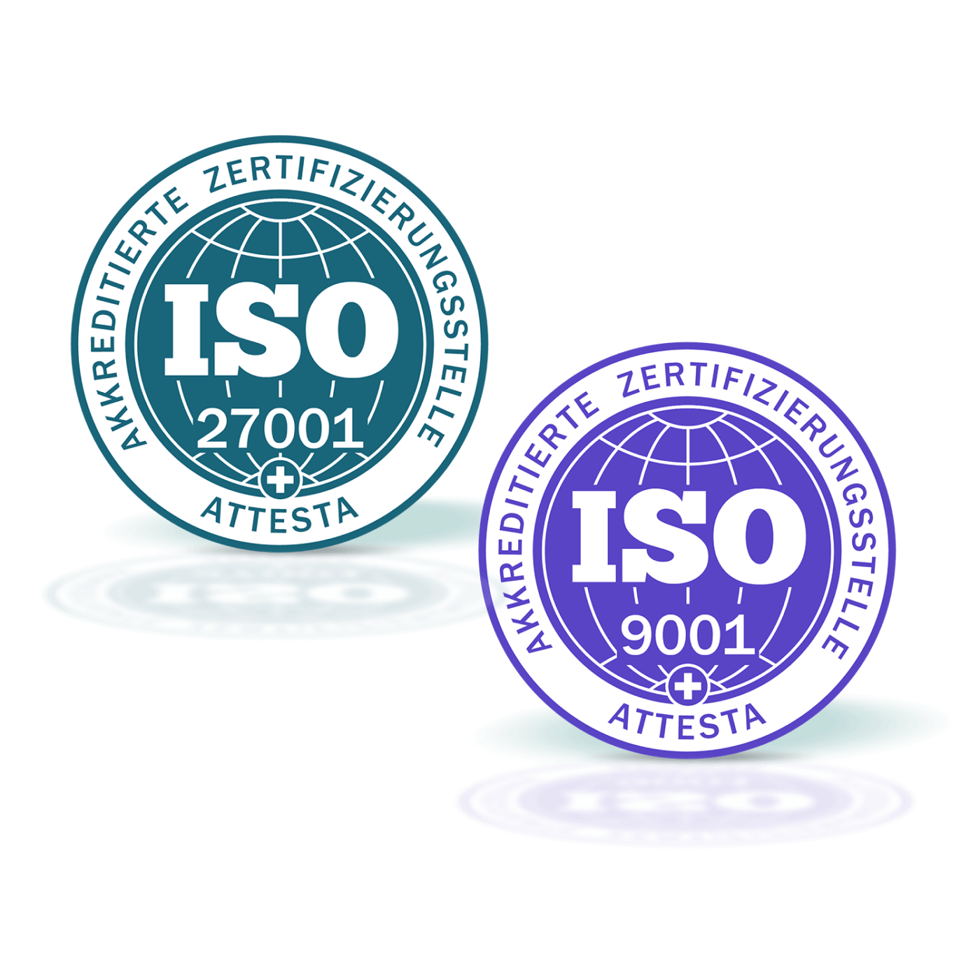 ISO 9001 and 27001 certified!